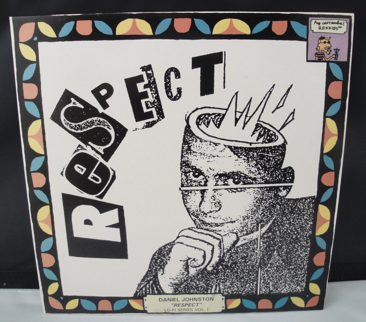 "Daniel Johnston - Respect - Limited Edition Vinyl, LP, 10"", 1993"