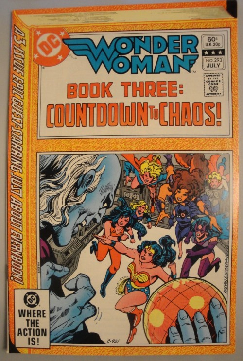 Wonder Woman #293 - VF or better - 1982 - Ross Andru, Gene Colan