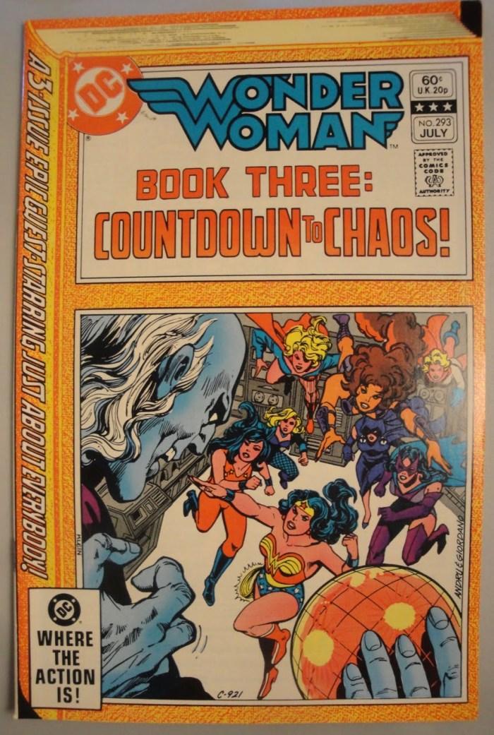 Wonder Woman #293 - VF or better - 1982 - Ross Andru, Gene Colan
