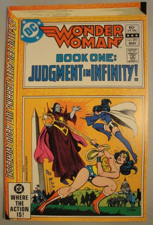 Wonder Woman #291 - Nice VF+, 1982, Zatanna, Comic Book