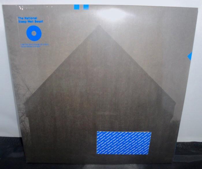 The National - Sleep Well Beast - Ltd Ed 2XLP, Blue Vinyl, 2017, 4AD