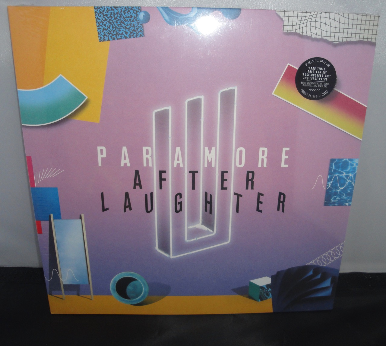 Paramore - After Laughter - Black & White Marble Colored Vinyl, 2017