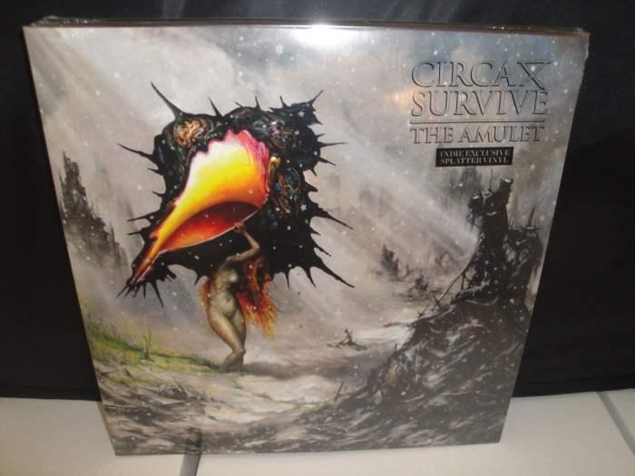 Circa Survive - The Amulet - Limited Edition Splatter Vinyl, 2017, LP