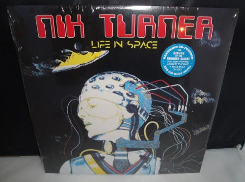 Nik Turner - Live In Space - 2017 Ltd Ed Blue Vinyl LP, Hawkwind