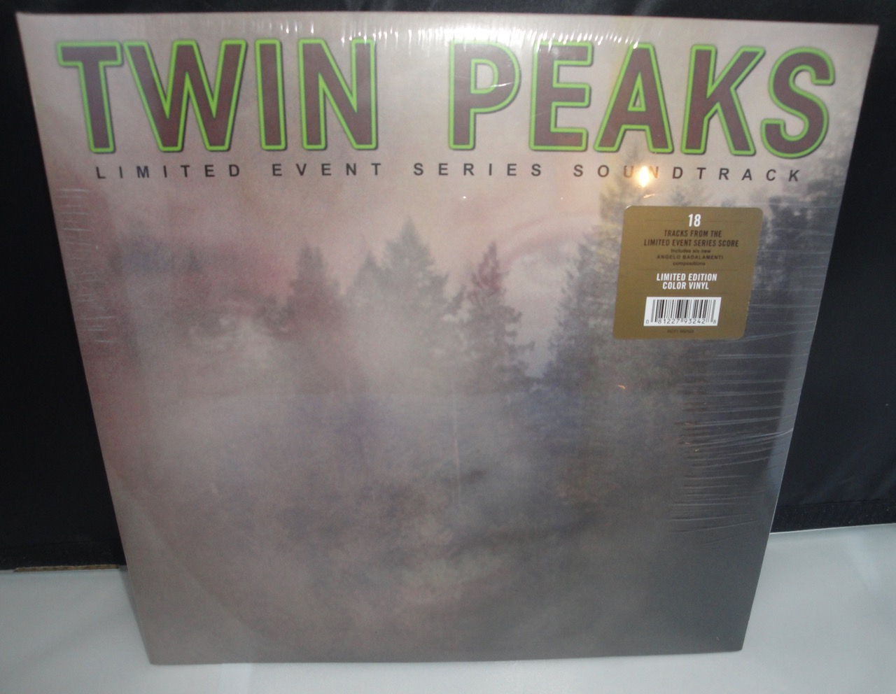 Twin Peaks - Limited Event Series Soundtrack - 140 G, Green Vinyl LP