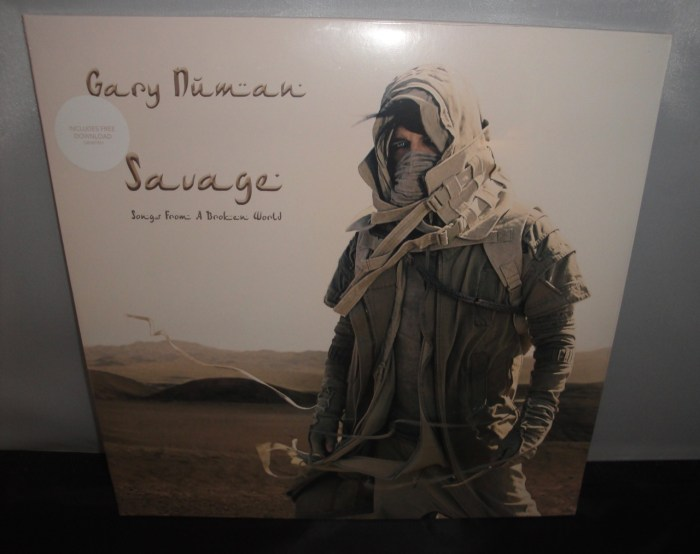 Gary Numan - Savage (Songs from a Broken World)