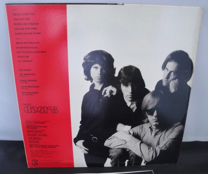 The Doors - Greatest Hits - Vinyl, LP, Elektra Records, Club Edition