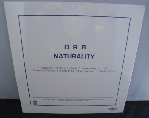 The Orb - Naturality - Castleface Records Import, 2017, New Release