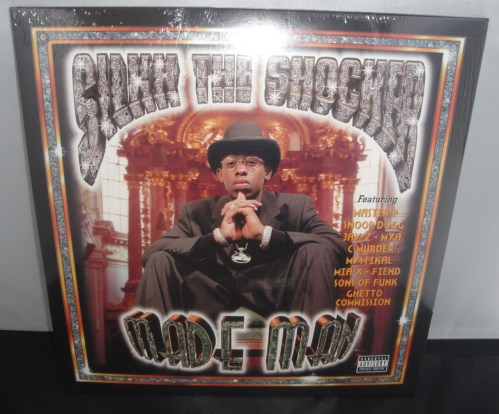 Silkk The Shocker - Made Man - No Limit Records, 2017, Vinyl LP Reissue