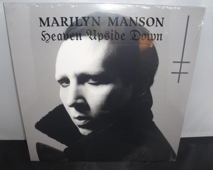 Marilyn Manson - Heaven Upside Down - 2017 Vinyl LP