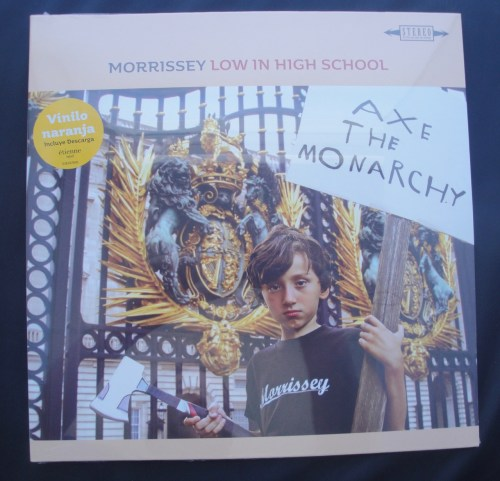 Morrissey - Low In High School - Orange Colored Vinyl, LP, 2017 (Spanish)