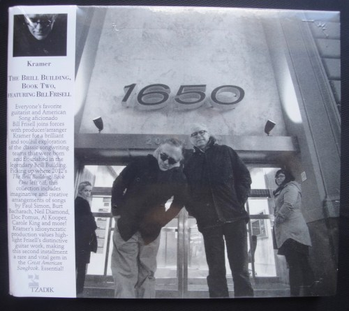 Kramer - The Brill Building, Book Two Featuring Bill Frisell, Compact Disc, (CD), 2017