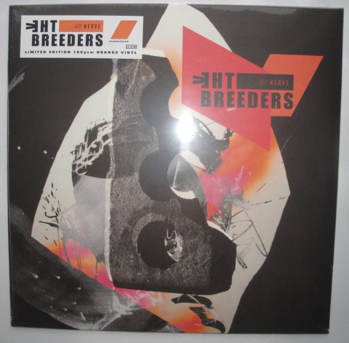 The Breeders - All Nerve - Ltd Ed Orange Colored Vinyl, 4AD, 2018
