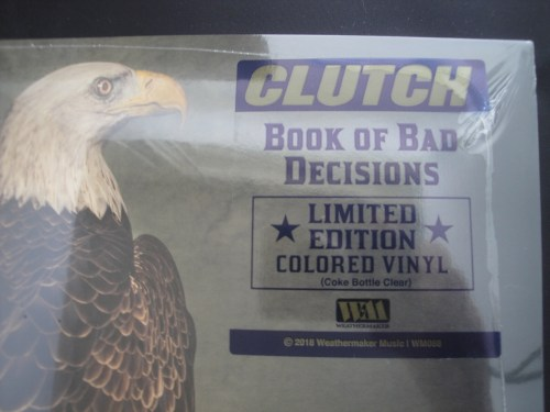 Clutch - Book Of Bad Decisions - Ltd Ed 2XLP, Clear Vinyl, Gatefold, 2018