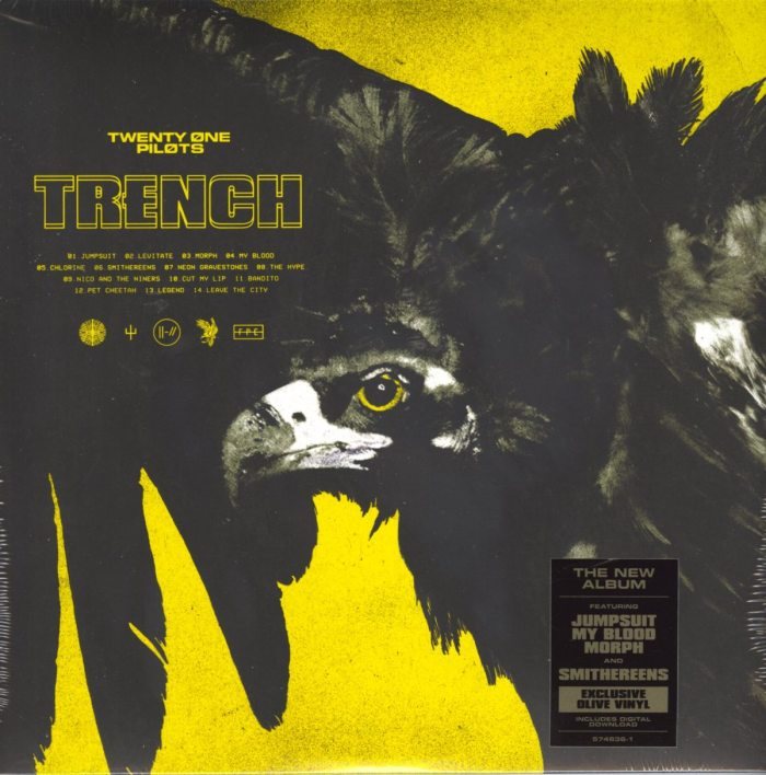 Twenty One Pilots - Trench - Limited Edition, Olive Green, Colored 2XLP, Vinyl, Fueled By Ramen, 2018