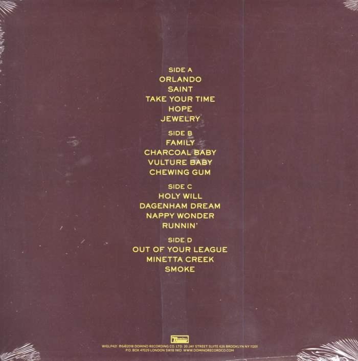 Blood Orange - Negro Swan - Limited Edition, Orange Colored Vinyl, Domino, 2018