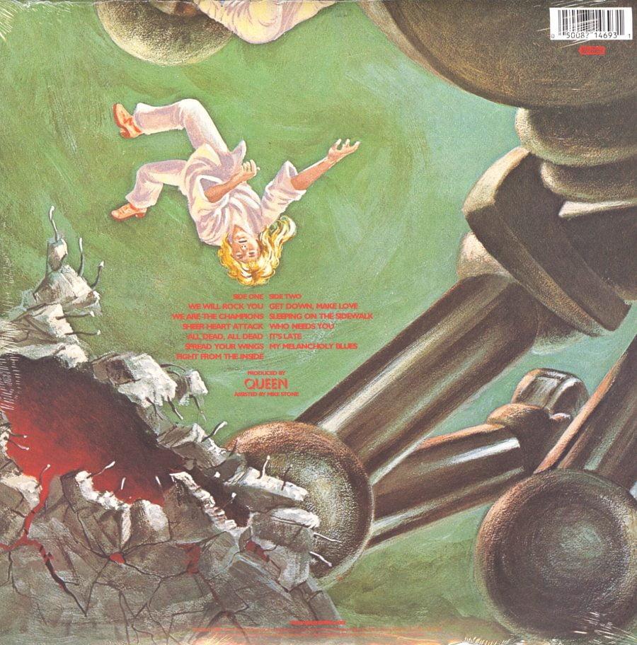 Queen - News of the World - 180 Gram Vinyl, Reissue, Fontana Hollywood, 2009