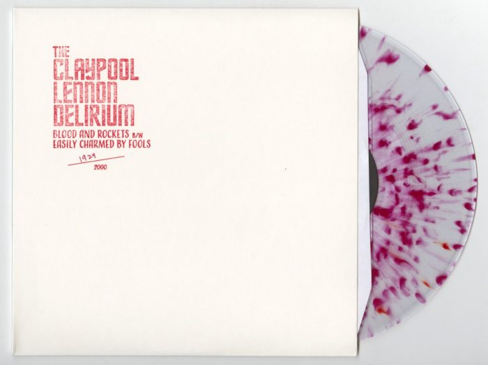 """Claypool Lennon Delirium - Blood & Rockets / Easily Charmed By Fools - 10"""" Vinyl, Numbered, 2019"""