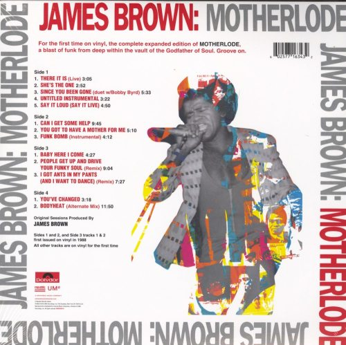 James Brown - Motherlode - 2XLP, Double Vinyl, Gatefold, Reissue, UMG, 2019
