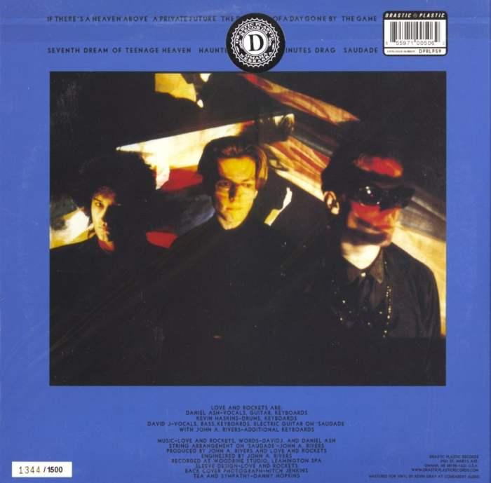 Love and Rockets - Seventh Dream of Teenage Heaven - 150 Gram, Ltd, Blue, Vinyl, 2014