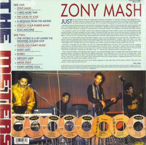 The Meters - Zony Mash - Ltd Ed, Blue, Colored Vinyl, Reissue, Sundazed, 2018