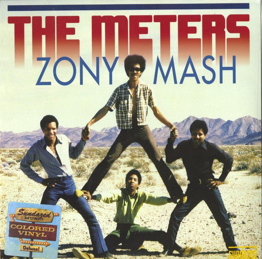 The Meters - Zony Mash - Ltd Ed, Blue, Colored Vinyl, Reissue, Sundazed, 2018