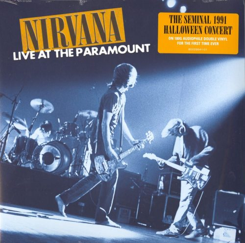 Nirvana - Live At The Paramount - 2XLP, 180 Gram, Geffen Records, 2019