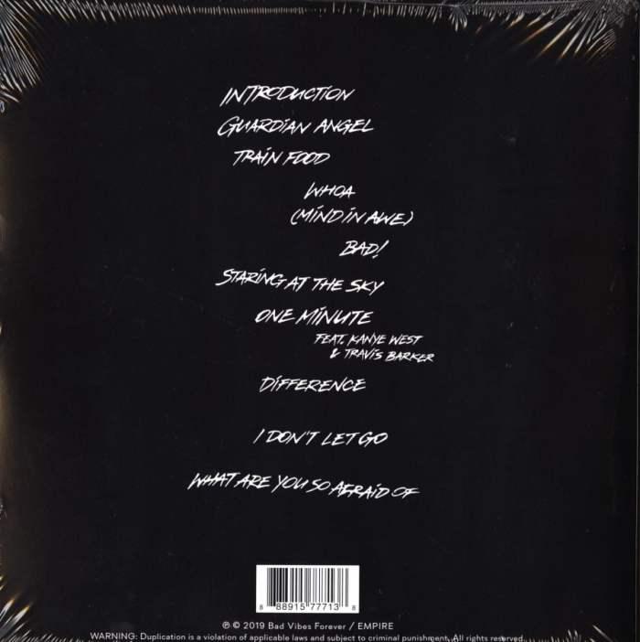 Xxxtentacion - SKINS - Vinyl, LP, Blue/Black Splatter, Bad Vibes Forever, 2019