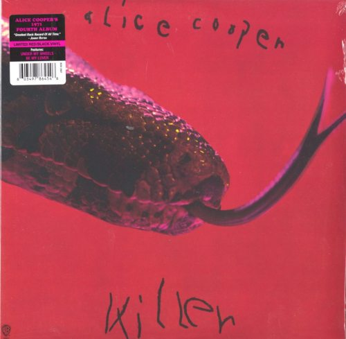Alice Cooper - Killer - Ltd Ed, Red, Black, Colored Vinyl, Reissue, Rhino, 2018