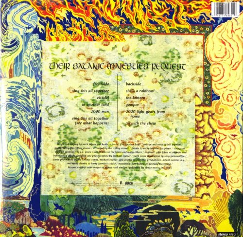 The Rolling Stones - Their Satanic Majesties Request - Limited, 180 Gram, Lenticular Cover, Abkco, 2018
