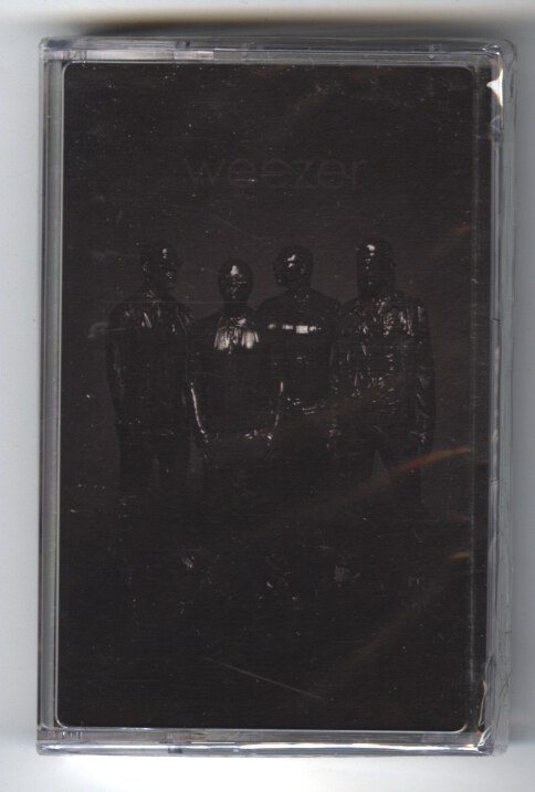 Weezer - Black Album - Cassette, Crush Music, 2019