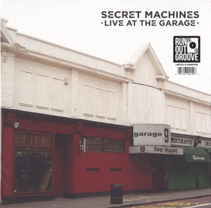 Secret Machines - Live At The Garage - Ltd Ed, Numbered, Double Vinyl, 2XLP, R.O.G., 2019