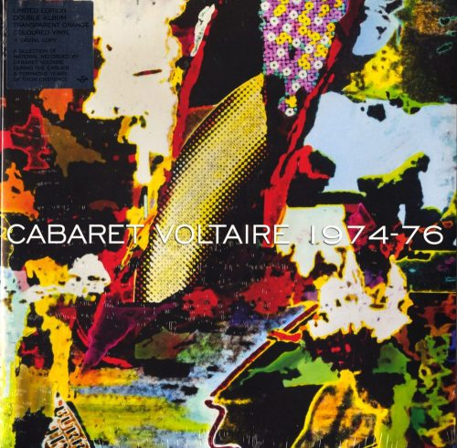 Cabaret Voltaire - 1974-76 - Limited, Transparent Orange, Colored Vinyl, Mute, 2019