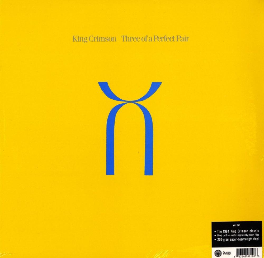 King Crimson - Three Of A Perfect Pair - 200 Gram, Vinyl, LP, Import, Panegyric, 2019