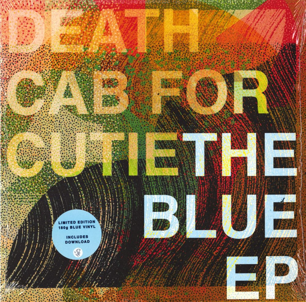 """Death Cab for Cutie - Blue - Limited Edition, Blue, Colored Vinyl, 12"""", EP, Barsuk, 2019"""