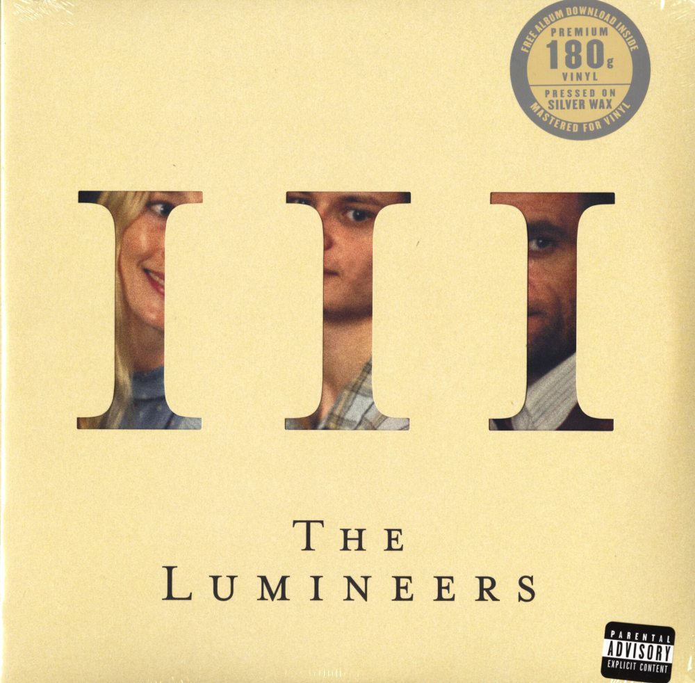 Lumineers - III - Limited Edition, Silver, Colored Vinyl, LP, Dualtone, 2019