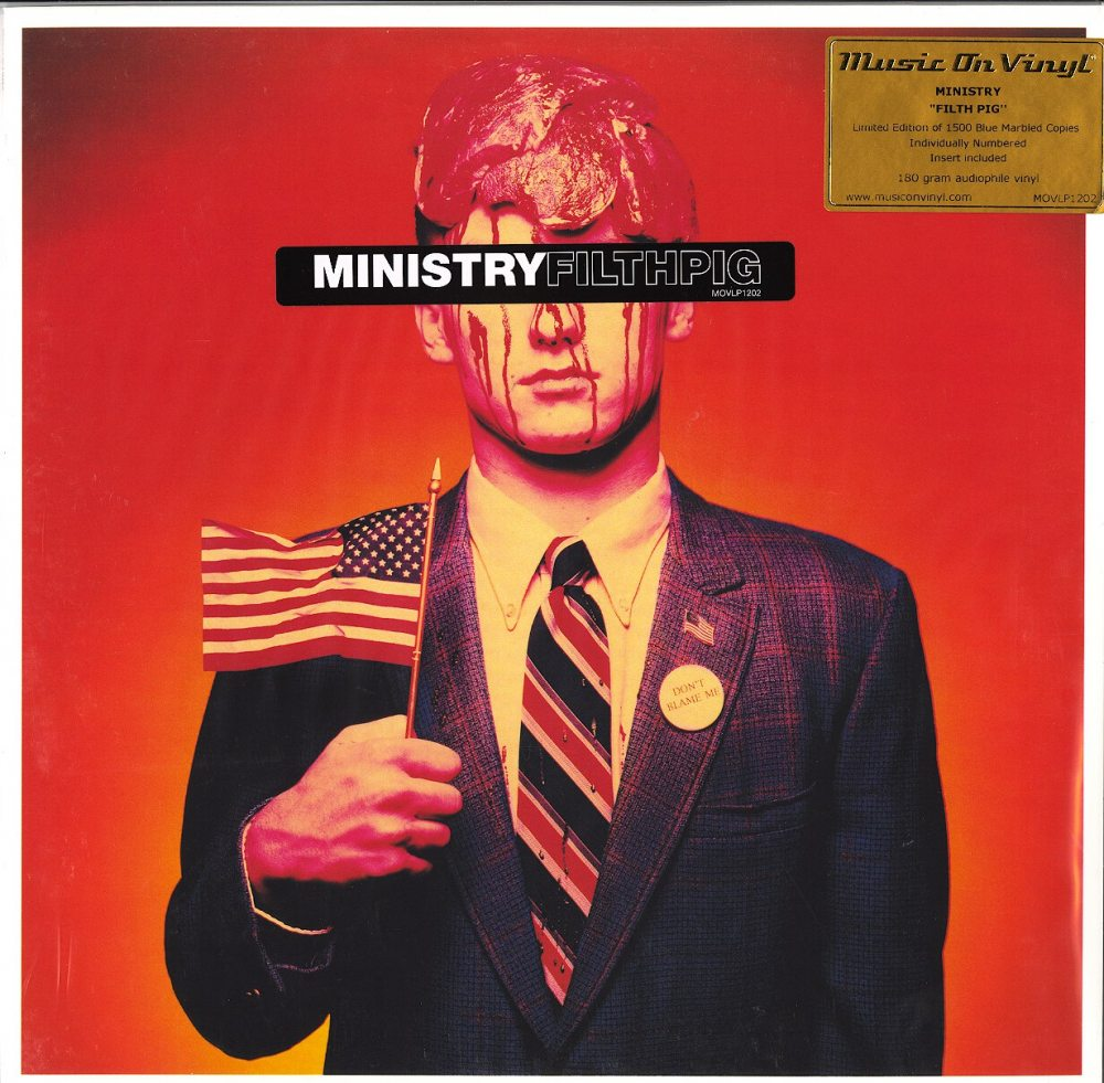 Ministry - Filth Pig - Limited Edition, Blue, Colored Vinyl, Numbered, M.O.V., 2019