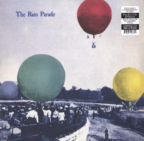 Rain Parade - Emergency Third Rail Power Trip - Ltd Ed, Red, Yellow, Starburst, Vinyl, LP, Real Gone Music, 2019