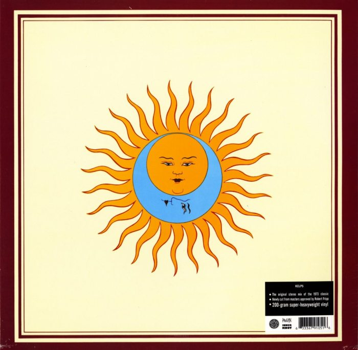 King Crimson - Larks Tongues in Aspic - 200 Gram, Robert Fripp Approved, DGM, 2013