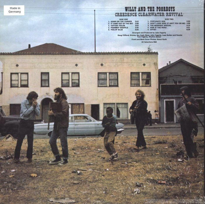 Creedence Clearwater Revival - Willie and The Poor Boys - 180gm, Half-Speed Mastered, Vinyl, Import, Craft Recordings, 2019