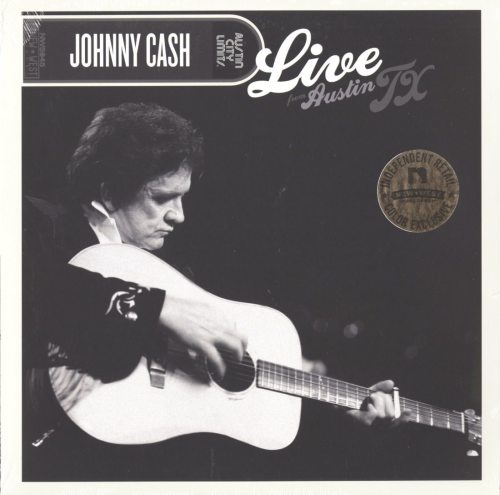 Johnny Cash - Live From Austin, TX - Limited, Clear Vinyl, LP, New West Records, 2019