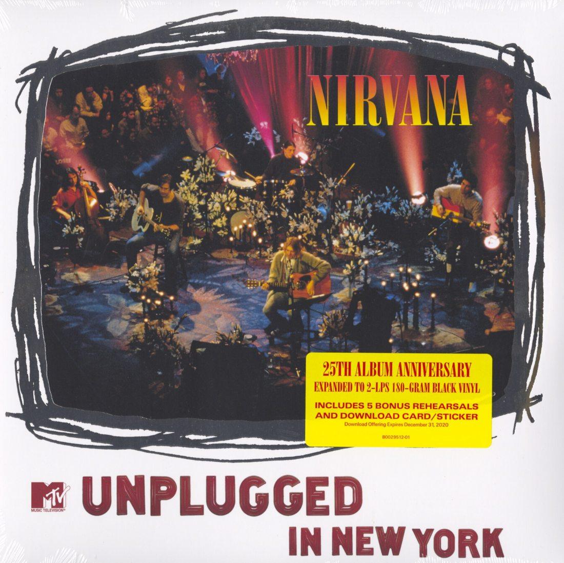 Nirvana - MTV Unplugged In New York - 25th Ann., Double Vinyl, Geffen Records, 2019