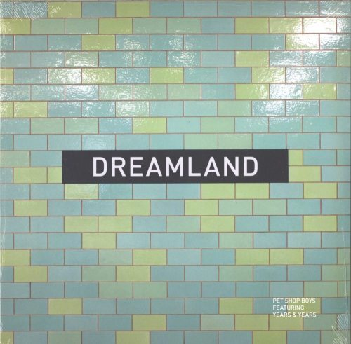 "Pet Shop Boys - Dreamland - 12"" Vinyl Single with Remixes - X2 - 2019"
