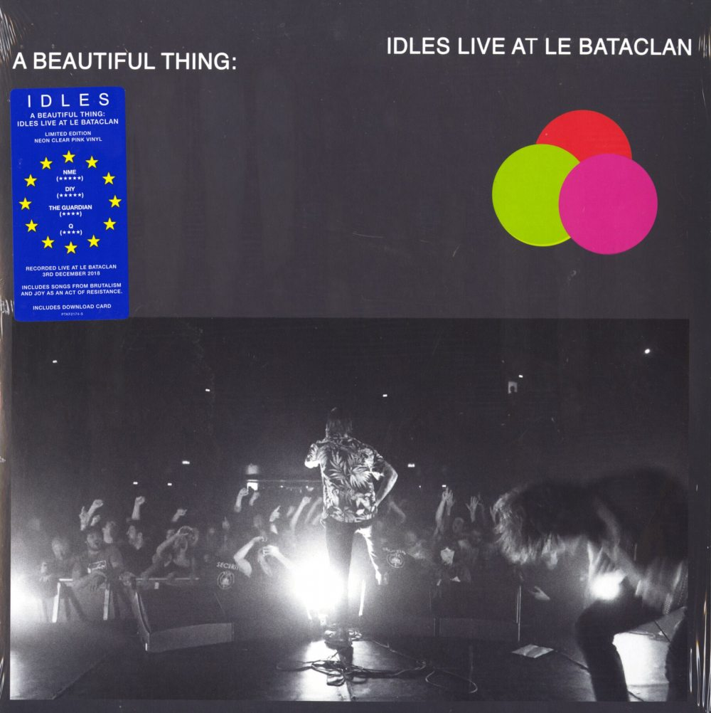 Idles - Beautiful Thing: Idles Live At Le Bataclan - 2XLP, Colored Vinyl, Partisan Records, 2019