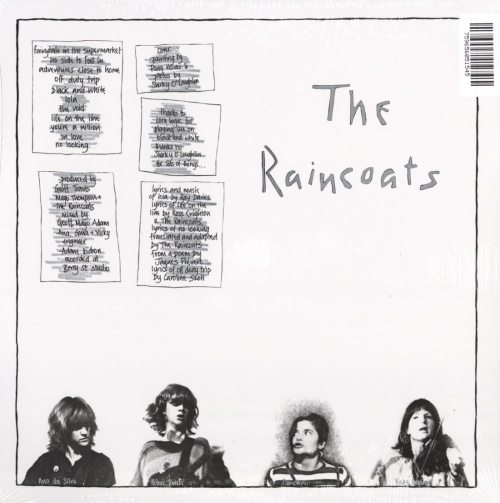 The Raincoats - The Raincoats - 40th Anniversary, Orange, Colored Vinyl, Kill Rock Stars, 2019