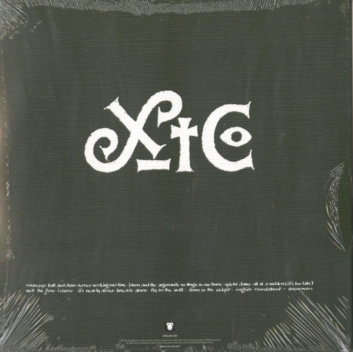 XTC - English Settlement - 200 Gram, Double Vinyl, LP, Reissue, Ape House Uk, DAMAGED CORNER, 2019