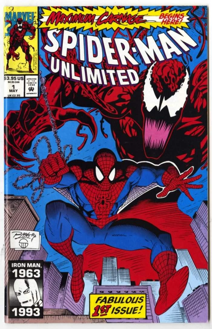 Spider-Man Unlimited #1, Maximum Carnage Part 1, Marvel Comics, 1993