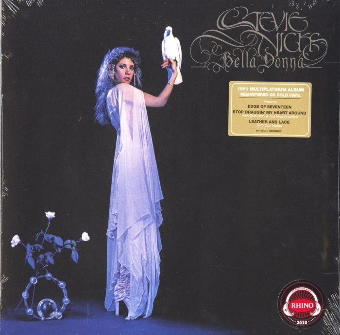 Stevie Nicks - Bella Donna - Limited Edition, Gold, Colored Vinyl, Reissue, Atlantic Records, 2020