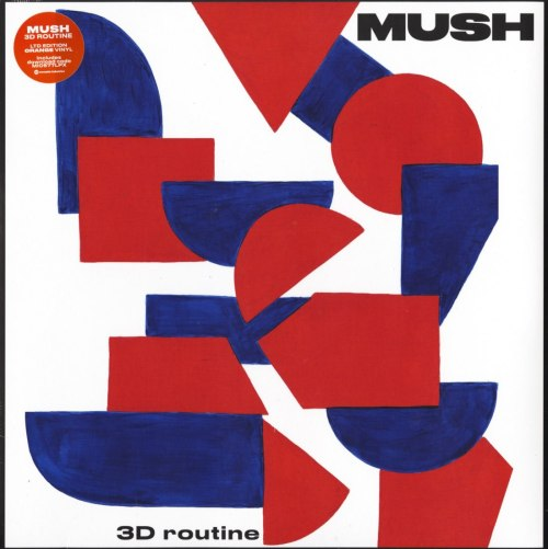 Mush - 3D Routine - Limited Edition, Orange, Colored Vinyl, Memphis Industries, 2020