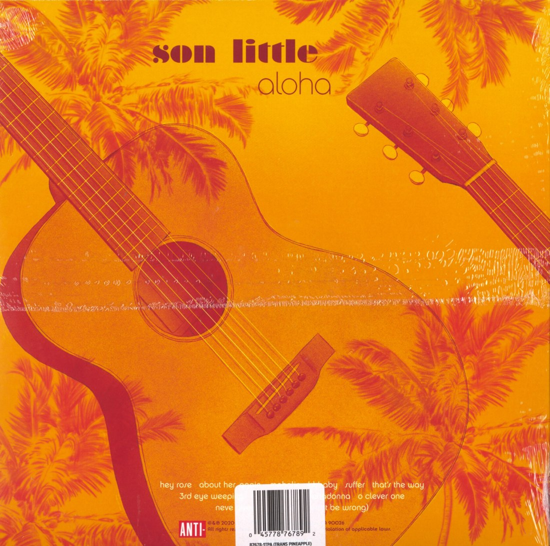 Son Little - Aloha - Limited Edition, Pineapple, Colored Vinyl, LP, Anti, 2020